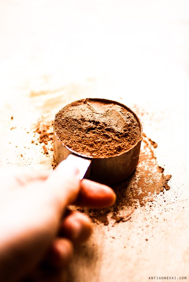 The very chocolatey vegan cookies - Antigone XXI