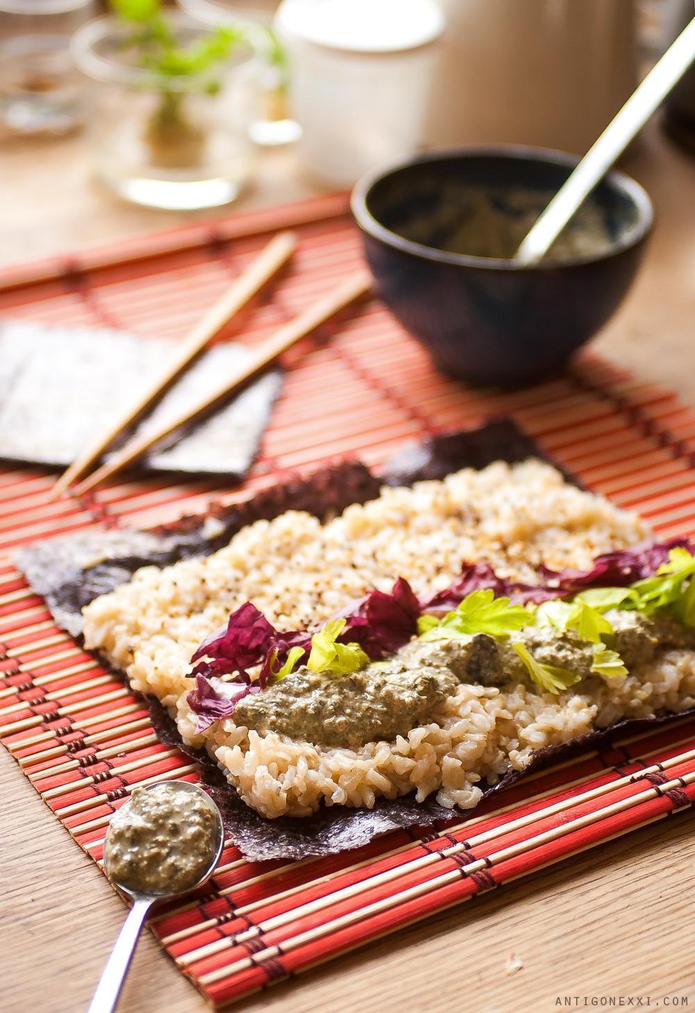1001 recettes de sushis véganes - Antigone21.com